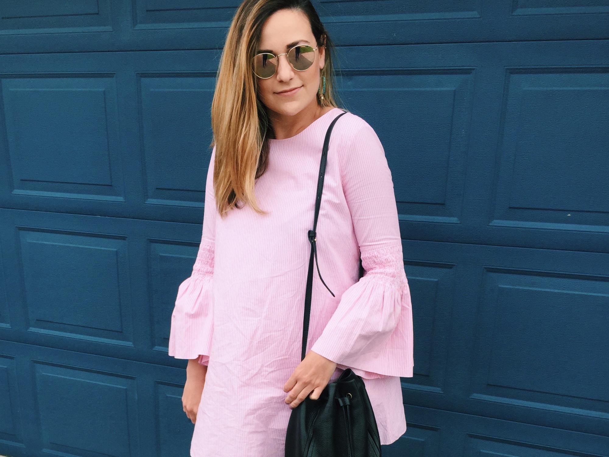 8da11afc85d Pink Romper! – just add stripes